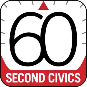 60-Second Civics Logo